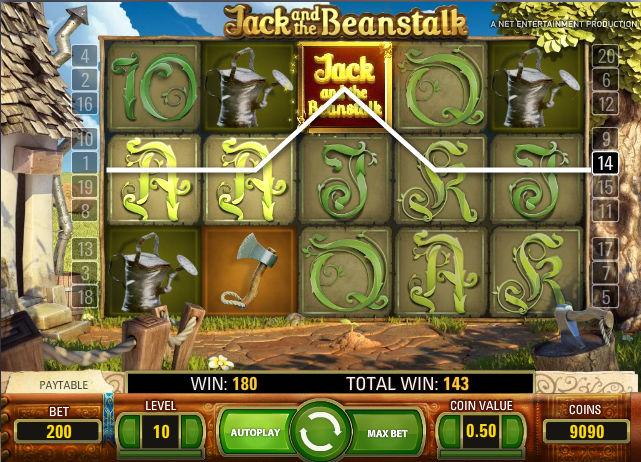Play the No Download Jacks Beanstalk Slot Machine Free
