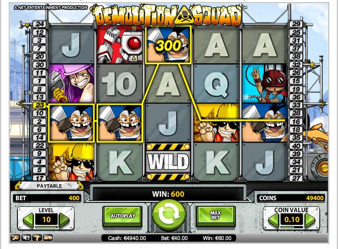 demolition-squad-slot