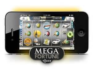 mega fortune mobile jackpot