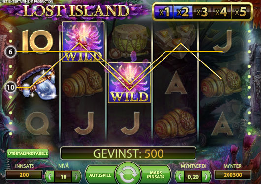 ComeOn Free Spins on Lost Island