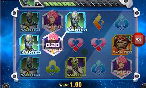 Iron Girl videoautomat Play 'n Go