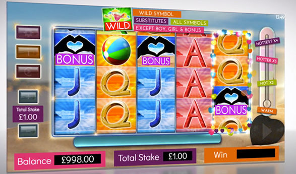 microgaming love island video slot game