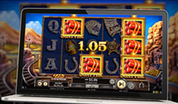 gold canyon betsoft video slot game