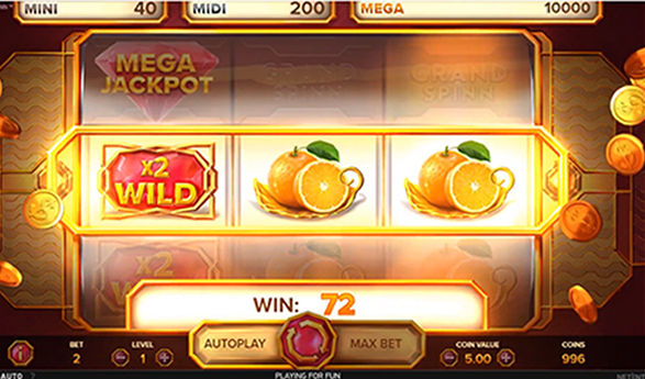 Grand Spinn netent jackpot video slot game